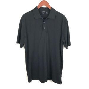 BOSS Hugo Boss Black Pima Cotton Short Sleeve Polo